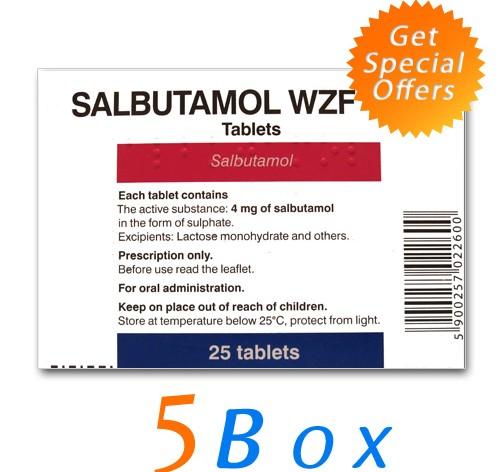 Purchase Online Salbutamol